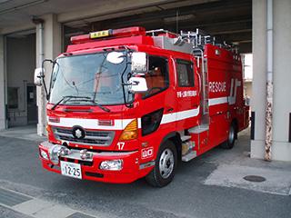 【写真】宇部西消防署の救助工作車