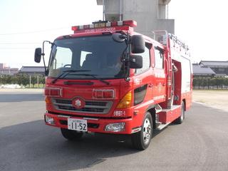 【写真】小野田消防署のタンク車