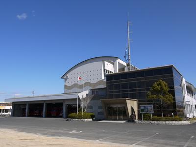 【写真】小野田消防署庁舎