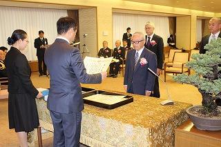 【写真】山口県消防表彰表彰式の様子2