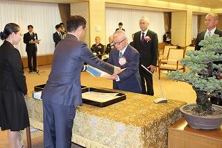 【写真】山口県消防表彰表彰式の様子3