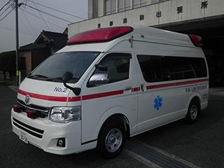 【写真】東部出張所の高規格救急自動車