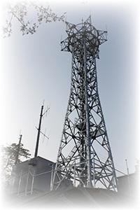 【写真】デジタル無線基地局