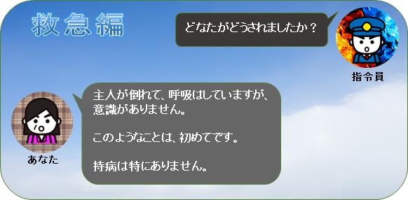 【画像】119番通報の流れ(救急編)