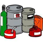 【画像】灯油、ガソリンなどの危険物の絵