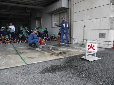 水消火器取扱訓練