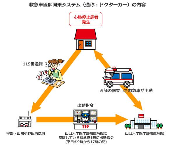 救急車医師同乗システム(ドクターカー)の内容